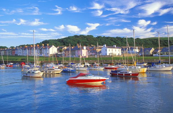 Aberaeron Harbour - local things to do from Gwarffynnon